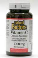 Vitamin C 1000mg, pH neutral, 90 capsules  (Natural Factors)