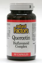 Quercetin Bioflavonoid Complex, 90 capsules  (Natural Factors)