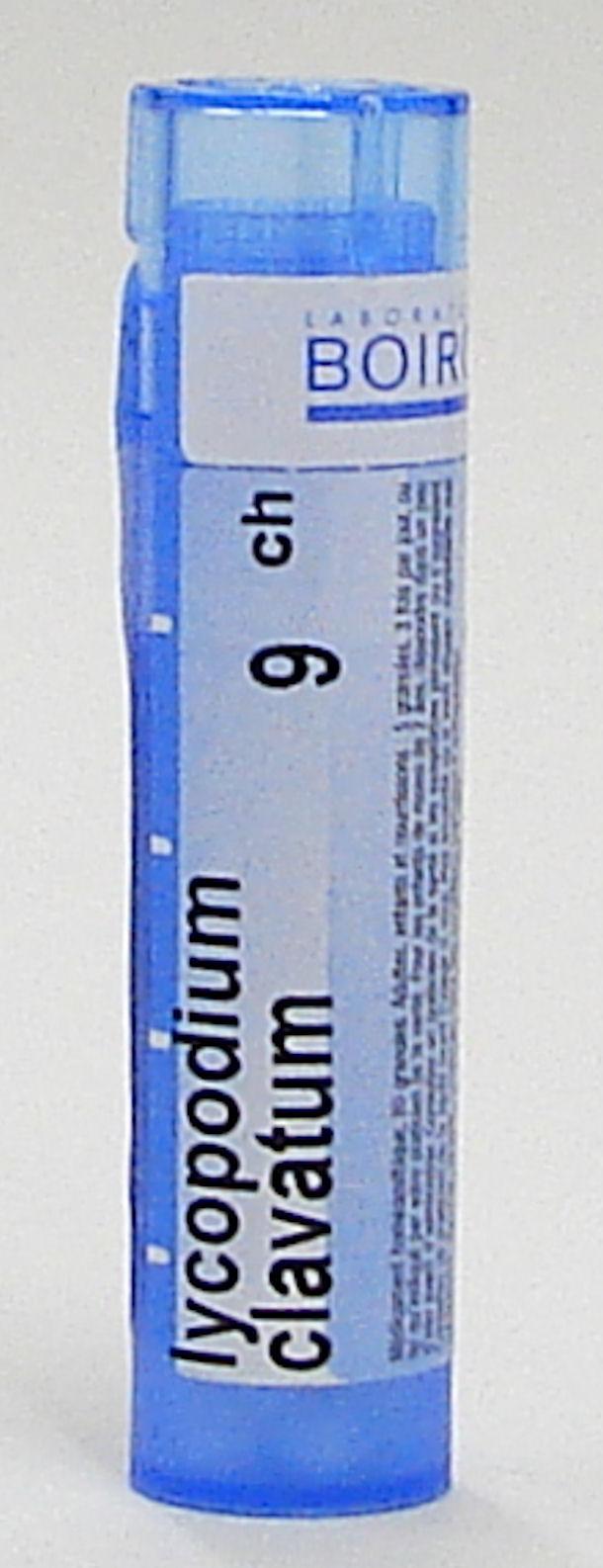 lycopodium clavatum 9ch sublingual pellets (boiron)