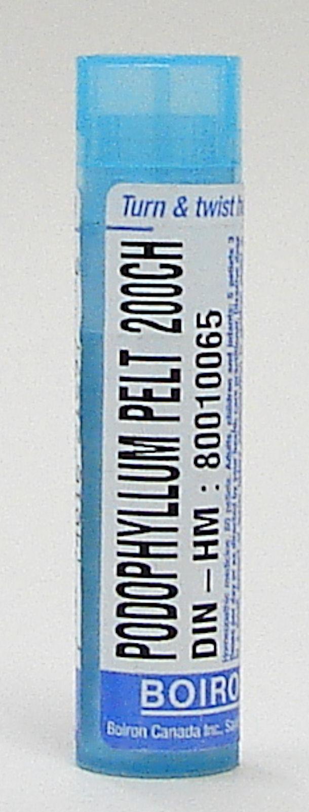 Podophyllum Peltatum 200ch sublingual pellets (Boiron)