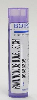 ranunculus bulbosus 30ch sublingual pellets (boiron)