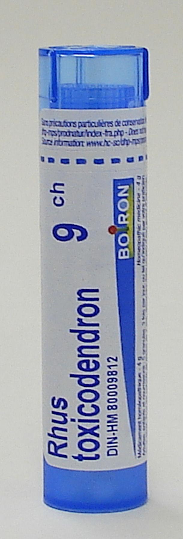 Rhus Toxicodendron, 9ch (Boiron)