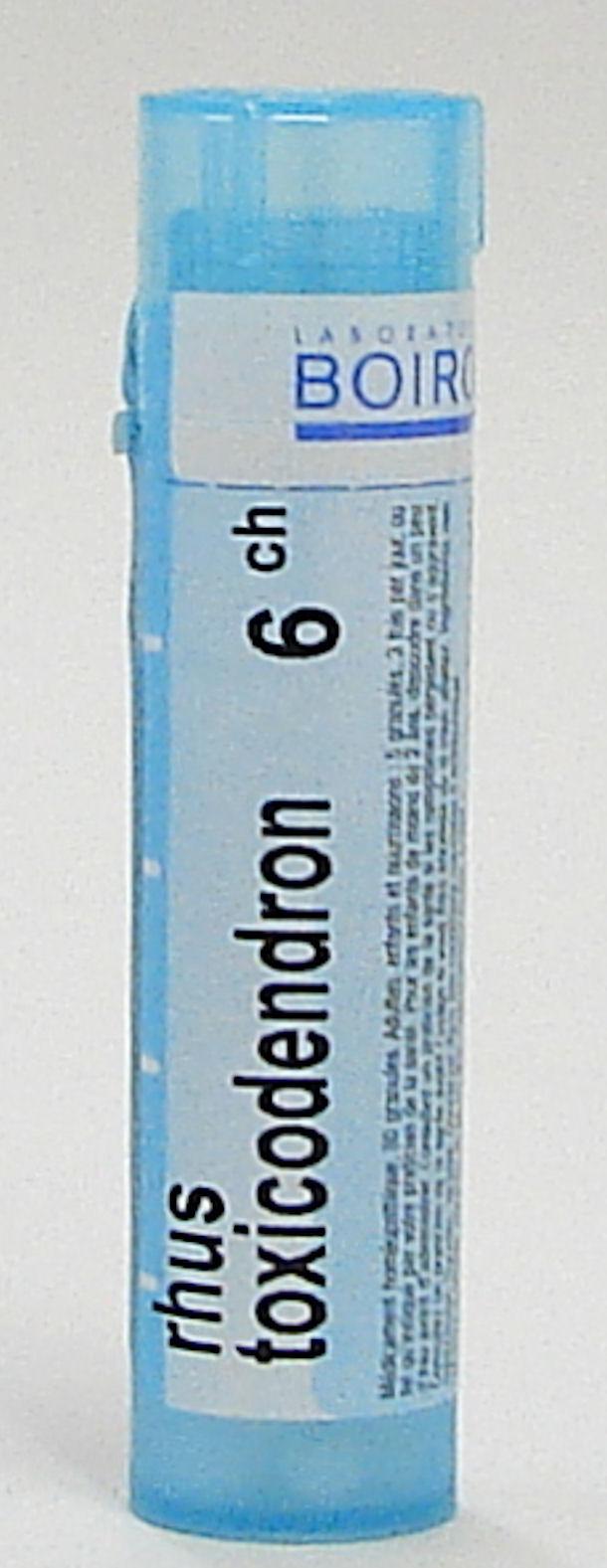 rhus toxicodendron, 6ch (boiron)