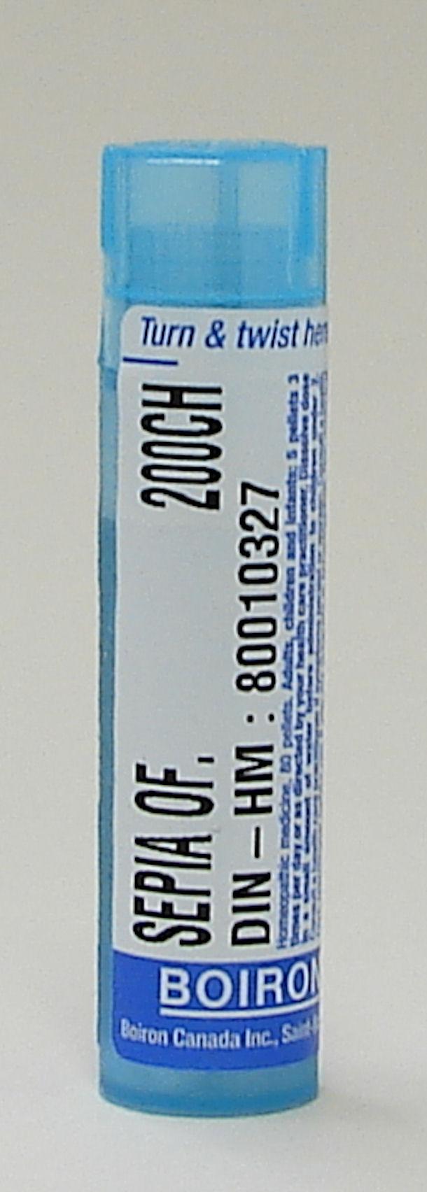 Sepia Officinalis, 200ch, sublingual pellets (Boiron)