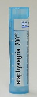 staphysagria, 200ch, sublingual pellets (boiron)