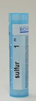 sulfur, 1M sublingual pellets (boiron)