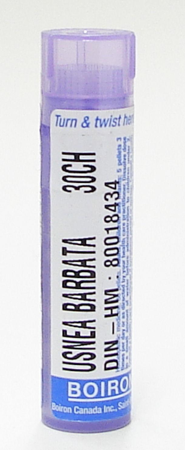 usnea barbata, 30ch sublingual pellets (boiron)