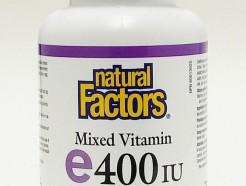 mixed vitamin e 400 iu, 90 softgels, natural source (natural factors)