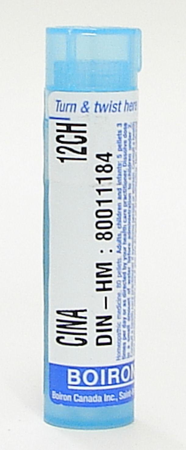 Cina 12ch sublingual pellets (Boiron)