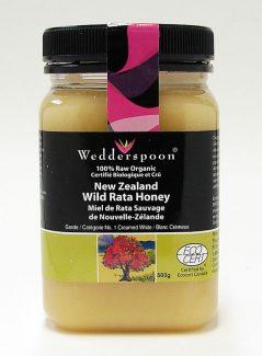 New Zealand Wild Rata Honey, 500g (wedderspoon)