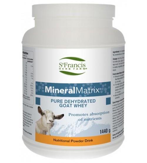 Mineral Matrix Pure Goat Whey Powder, (St Francis Herb Farm) 1440g