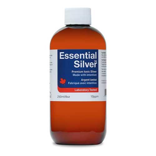 Essential Silver Reg. Strength 10 ppm Twist Cap 250ml  (Jardine Naturals)