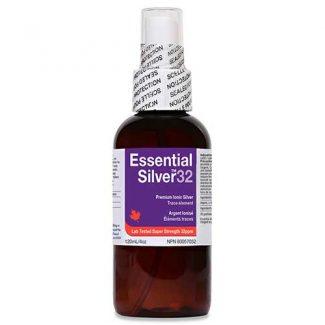 Essential Silver Super Strength 32 ppm Spray, 120ml  (Jardine Naturals)