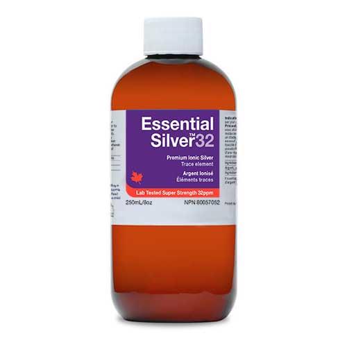 Essential Silver Super Strength 32 ppm Twist Cap 250ml  (Jardine Naturals)