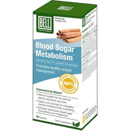 Blood Sugar Metabolism #40, 60 capsules (Bell)