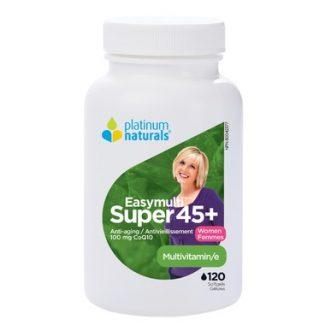 Easymulti Super 45+ for Women, 120 softgels (Platinum Naturals)