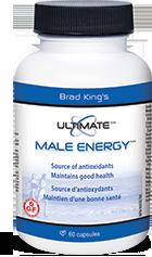 Brad King's Ultimate Male Energy, 60 caps