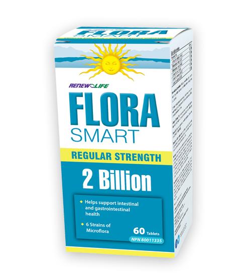 FloraSMART Regular Strength (Renew Life) 60 tablets