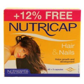 Nutricap Hair & Nails, 40 +5 caps (Nutrisante)