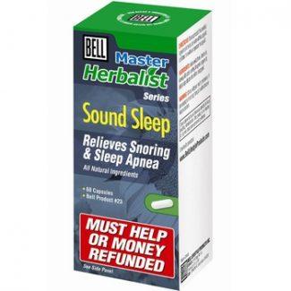 Sound Sleep (Bell Master Herbalist #23), 60 caps