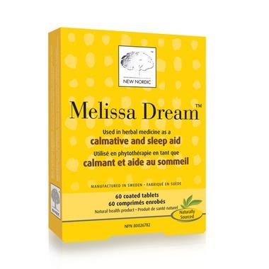 Melissa Dream (New Nordic), 60 tabs