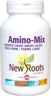 Amino-Mix Free-Form BCAA's, 850mg 240 tabs (New Roots Herbal)