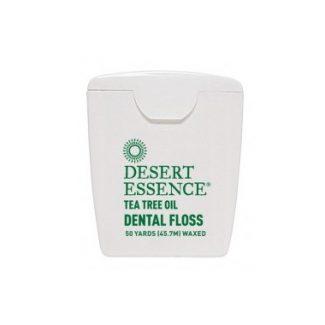 Desert Essence Tea Tree Oil Dental Floss, 50 yards waxed