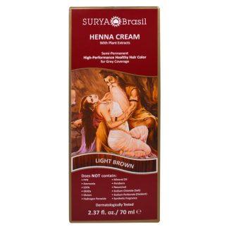 Surya Brasil Henna Creme, Light Brown 70ml