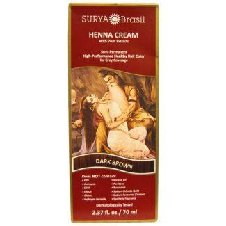Surya Brasil Henna Creme, Dark Brown 70ml
