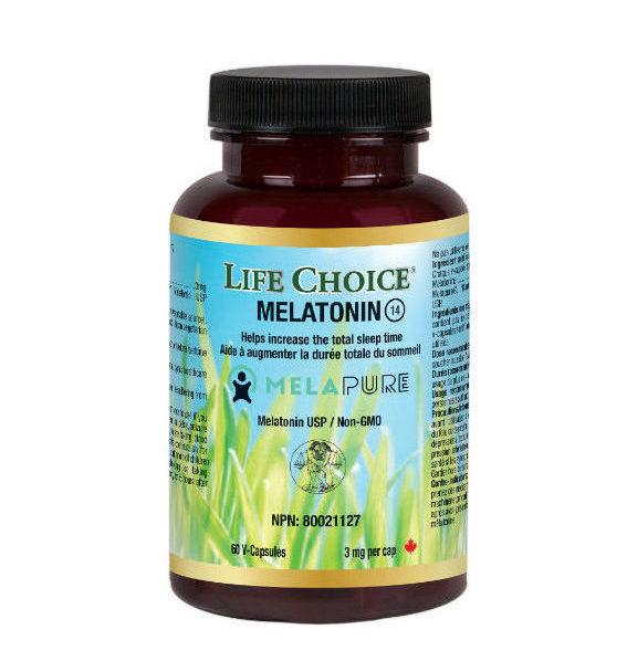 Melapure Melatonin, 3 mg Life Choice, 60 vcaps