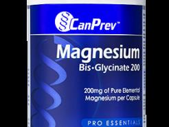 Magnesium Bis-Glycinate 200, 240 vcaps CanPrev