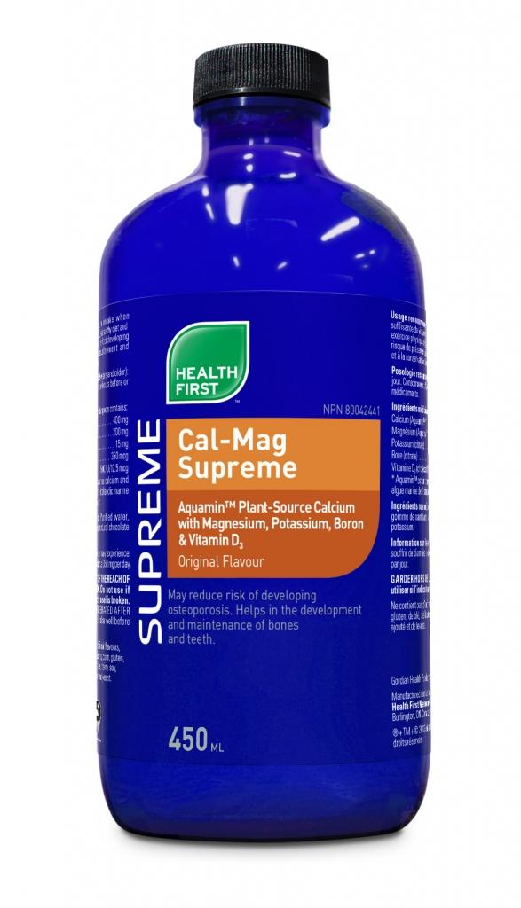 Cal-Mag Supreme - liquid 450 ml (Health First)