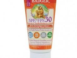 Badger Kids Sunscreen, Tangerine & Vanilla Cream SPF 30