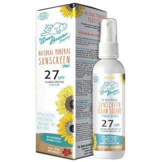 Green Beaver Natural Mineral Sunscreen Spray spf 27