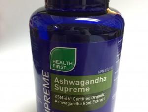 Ashwagandha Supreme KSM-66 Certified Organic Ashwagandha Root Extract 300mg 60 Vcaps (Health First)