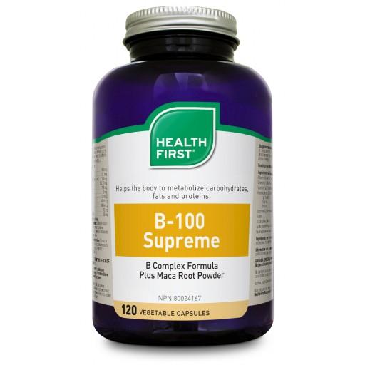 Health First B100-Supreme Plus Maca, 120 caps