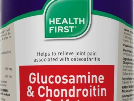 Health First Glucosamine & Chondroitin 180cap 900mg