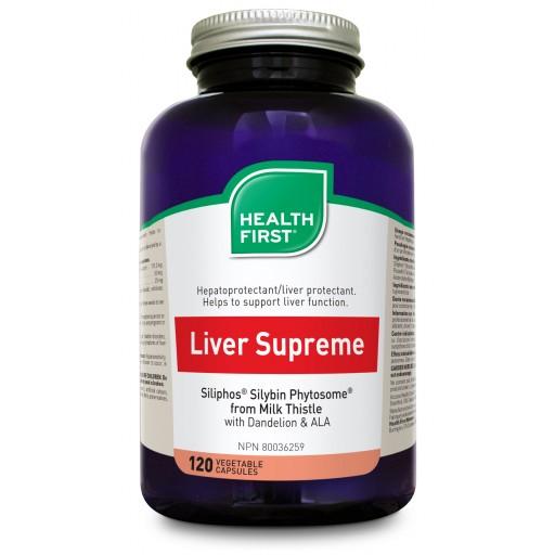 Health First Liver Supreme 120 veg caps