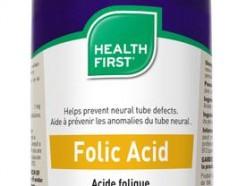 Health First Folic Acid 100 tabs