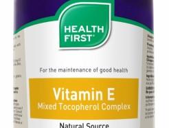 Vitamin E Mixed Tocopherol Complex 180 gelcaps (Health First)