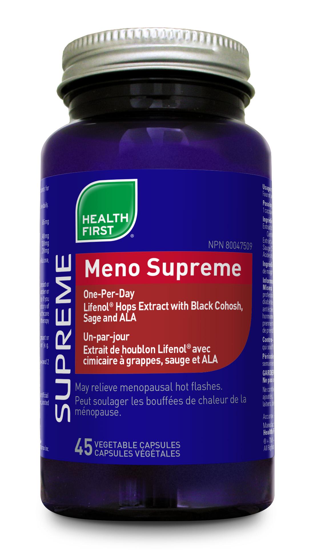 Meno Supreme 45 veg capsules