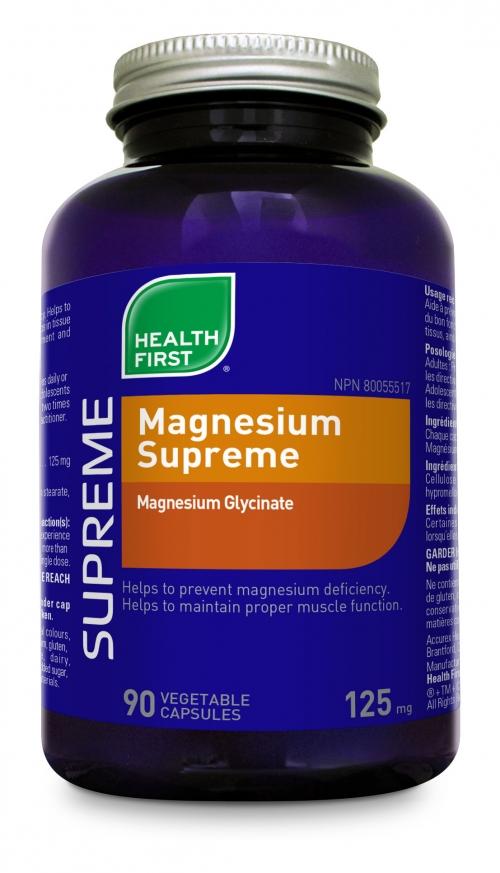 Magnesium Supreme 90 veg caps (Health First)