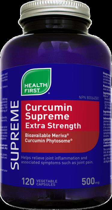 Curcumin Extra Strength 120 veg caps