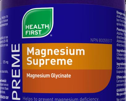 Magnesium Supreme 180 veg caps