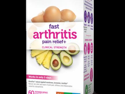 Genuine Health Fast Arthritis Pain Relief+ 60 veg caps