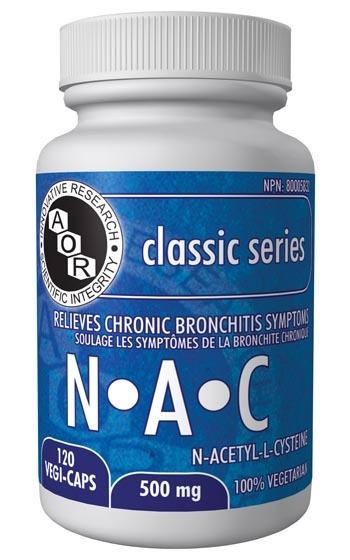 NAC 120 veg caps (AOR)