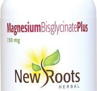 Magnesium Bisglycinate Plus 150mg 120 veg caps (New Roots)