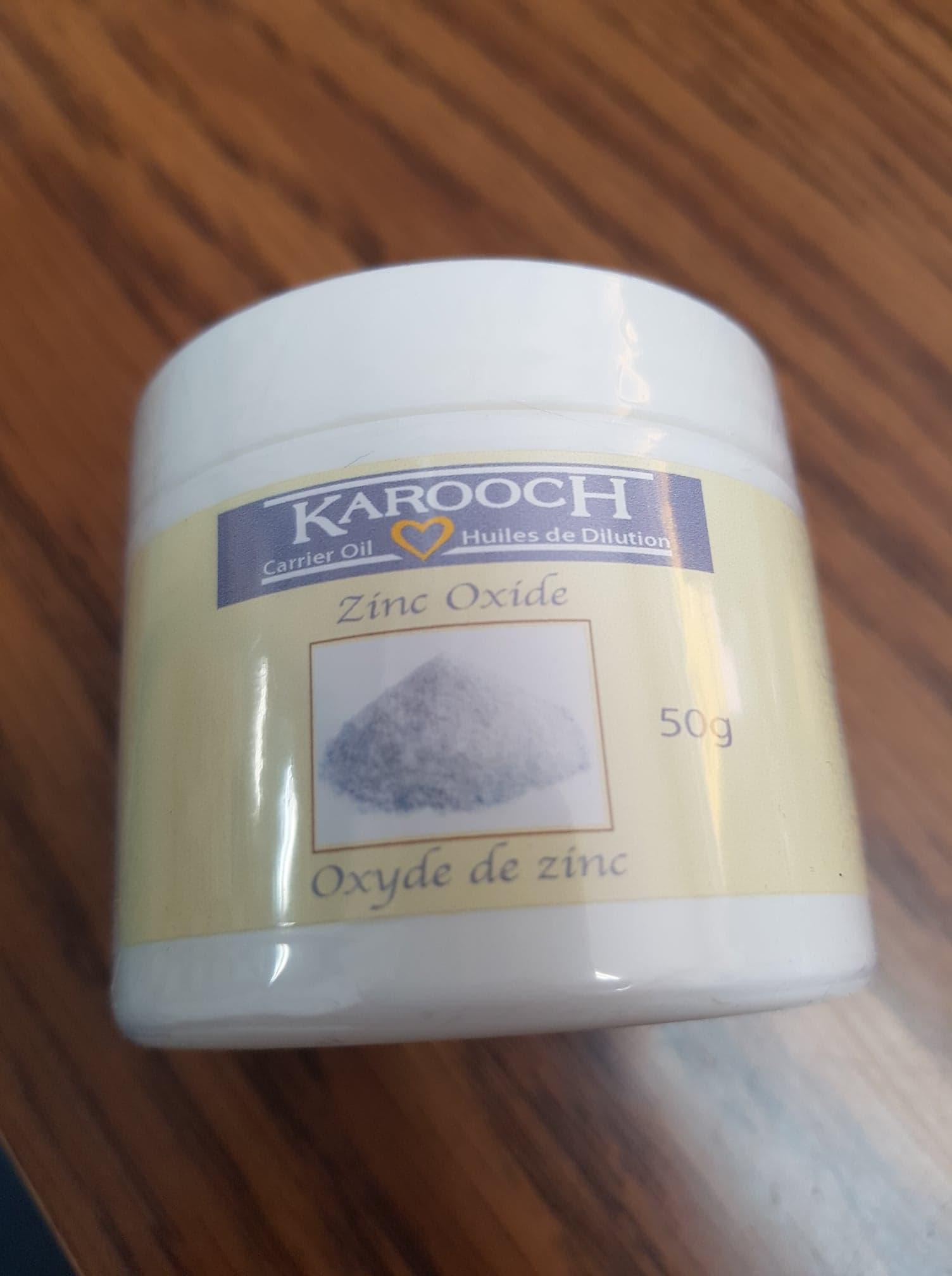 Karooch Zinc Oxide Powder 50g