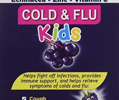 Sambucol Kids Cold and Flu 24 chew tabs