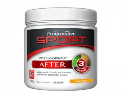 Progressive Sport Post-Workout, Orange Cream, 306g